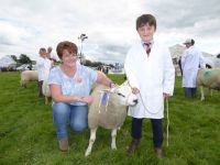 Runner up in the Young Handler Competition