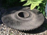 Swirl concrete pot 760mm dia. August 2014 £620