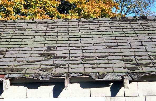 roofing work in north wales