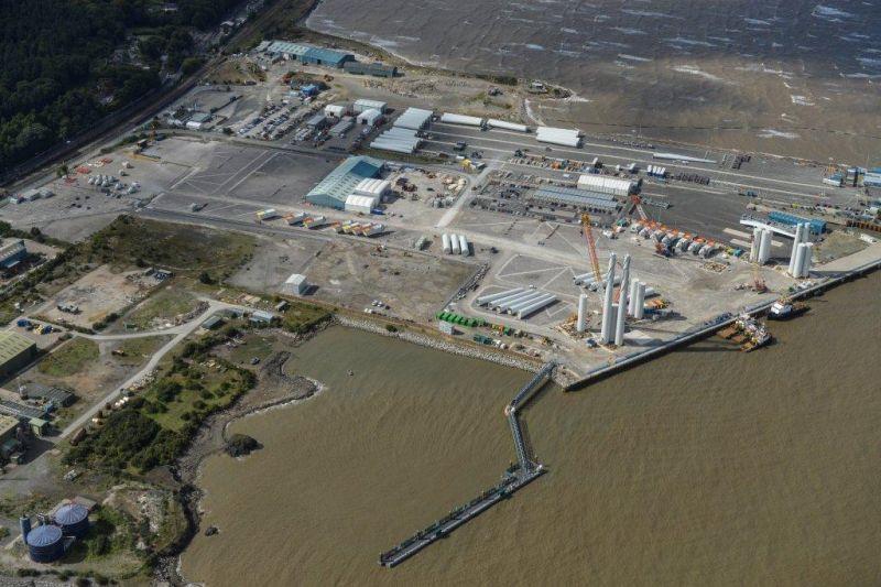 RWE Pontoon Offshore Wind Gwynt-y-mor