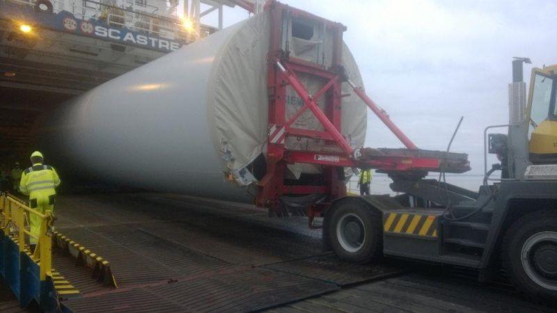 SC Astrea Seacargo Roro Delivery