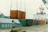 1988/89 During the national dock strikes Mostyn was one of the few ports in the UK which remained open and was used by feederships to continental port