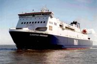 2002    The inaugural call of the P&O ferry at the commencement of the Mostyn-Dublin ferry service