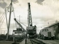1951  Cement from Padeswood Factory in Flintshire for export to Ireland
