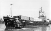 1969  First container shipments to Mostyn. Vessels diverted from strikebound Preston. A temporary daily service was operated from Mostyn to Belfast
