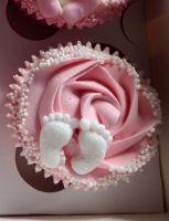 Little Feet Cupcake
