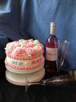 Mr & Mrs Engagement Cake