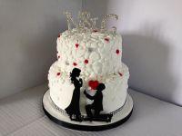 She Said Yes Engagement Cake