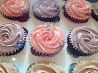 Pink and Lilac Cupcakes