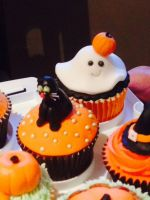 Girl Ghost Cupcake