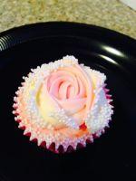 Dual Coloured Cupcakes
