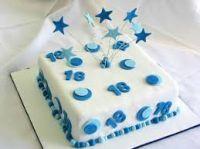 Boy 18 Cake