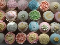 All sorts of cupcakes.