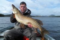16lb Pike Caught Trawling