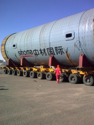 Cement factory (grinding Mill)  frieghted fom China to Saudi