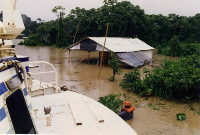 Flood in Peru