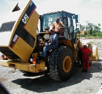 CAT 360 serviced on site