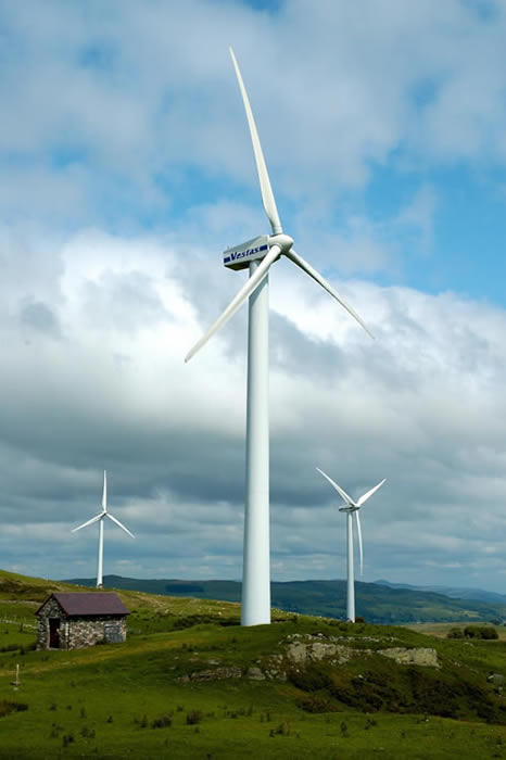 Image of Hafoty Uchaf Wind Farm North Wales