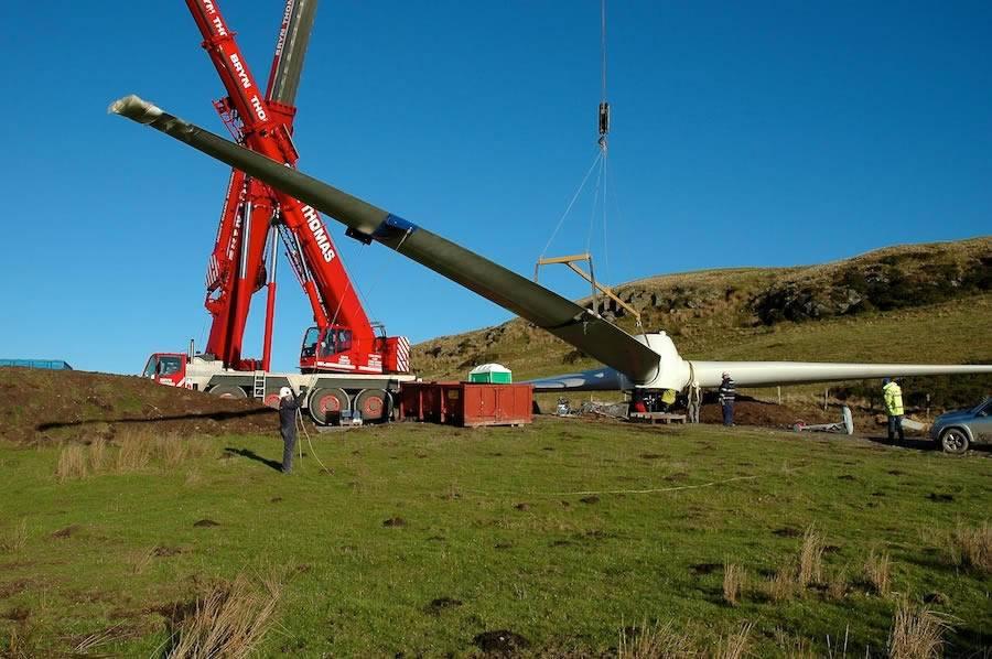 Image of Hafoty Uchaf Wind Farm North Wales