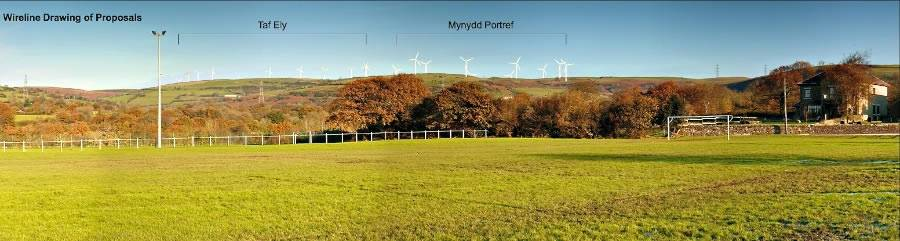 Image of Photomontage Mynydd Portref
