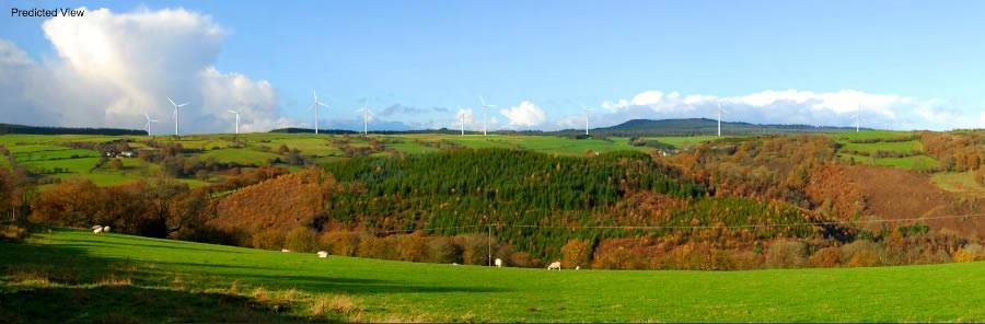 Image of Derwydd Bach Windfarm