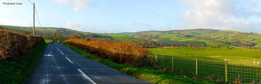 Image of Gorsedd Bran Windfarm
