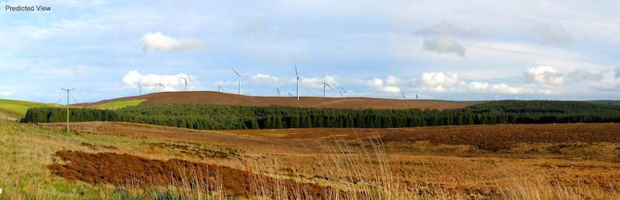 Image of Gorsedd Bran Windfarm